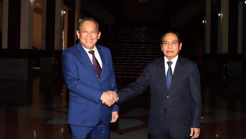 Việt – Lào tiếp tục triển khai hiệu quả Thỏa thuận hợp tác trong lĩnh vực pháp luật