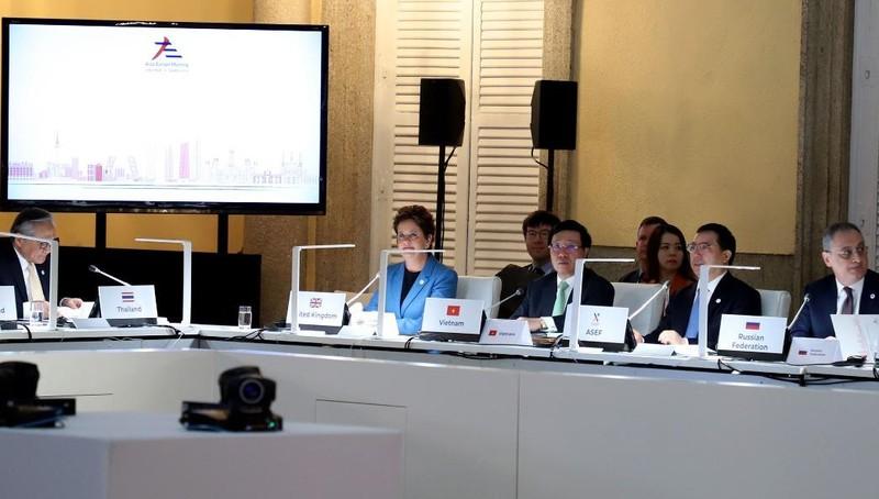 Phó Thủ tướng, Bộ trưởng Ngoại giao Phạm Bình Minh dự Hội nghị Bộ trưởng Ngoại giao ASEM lần thứ 14.