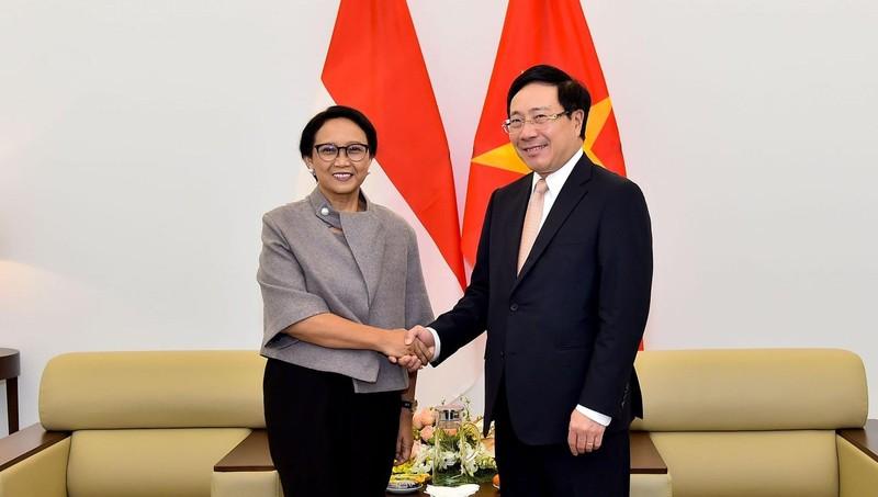 Bộ trưởng Ngoại giao Việt Nam, Indonesia quan ngại về những diễn biến trên Biển Đông