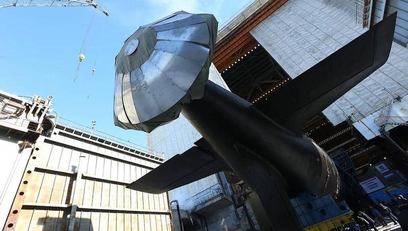 Nga hạ thủy 'siêu tàu ngầm' Yasen-M