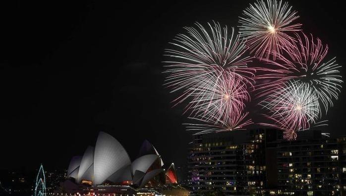 Thế giới tưng bừng đón năm mới 2020