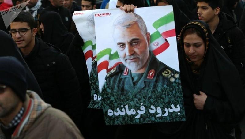 Tướng Qasem Soleimani.