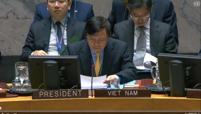 Việt Nam chủ trì Phiên họp của HĐBA LHQc thảo luận về tình hình Yemen