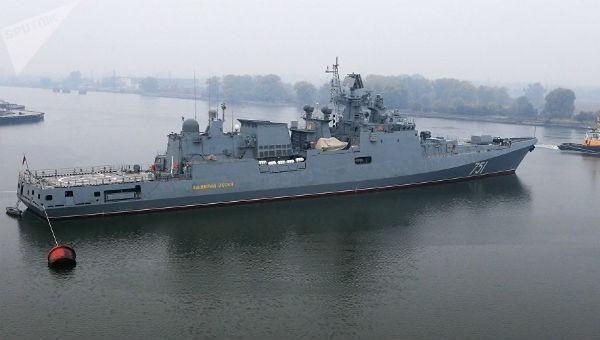 Tàu khu trục Đô đốc Essen của Nga.