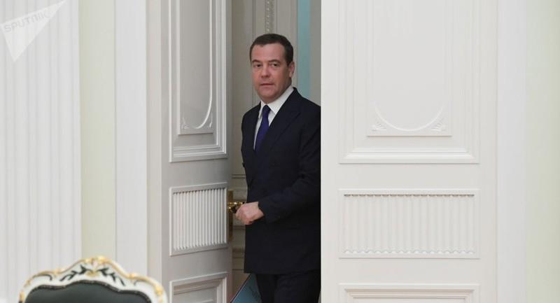 Cựu Thủ tướng Nga Dmitry Medvedev.