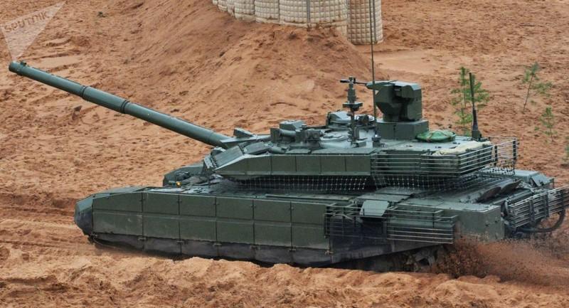 Xe tăng tối tân T-90M của Nga