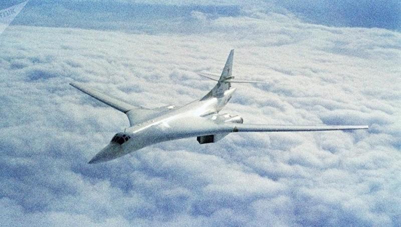 Máy bay Tu-160 của Nga