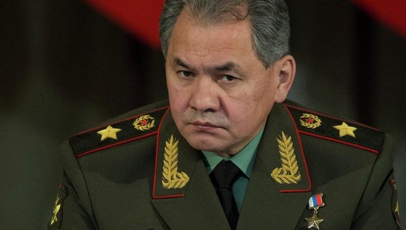 Bộ trưởng Quốc phòng Nga Shoigu.