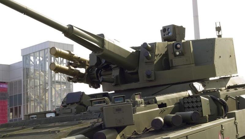"""Tính năng ưu việt """"xuyên qua vỏ thép như tờ giấy"""" của pháo mới cho xe bọc thép Nga"""