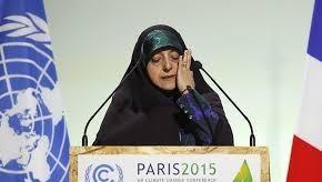 Phó Tổng thống Iran phụ trách về vấn đề Phụ nữ và Gia đình Masume Ebtekar.