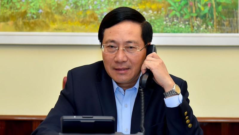 Đề nghị Hàn Quốc phối hợp chặt chẽ với Việt Nam trong công tác phòng chống dịch Covid-19