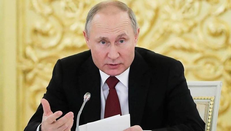 Tổng thống Nga Putin có cuộc họp quan trọng