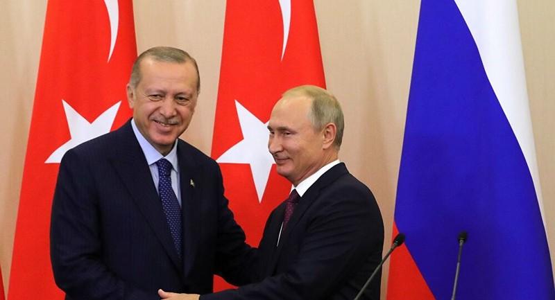 Tổng thống Thổ Nhĩ Kỳ yêu cầu 'rắn' với Tổng thống Nga Putin