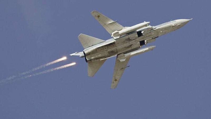 Máy bay Su-24 của Nga bị bắn hạ ở Syria?