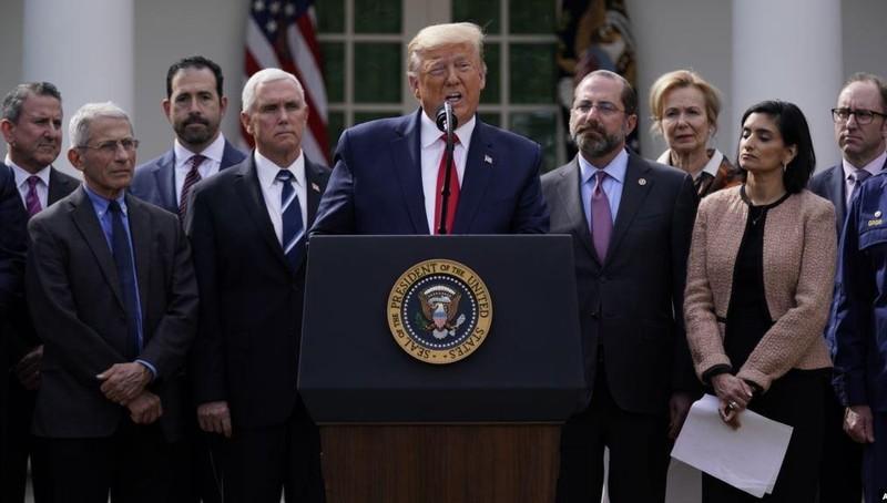 Tổng thống Mỹ Donald Trump công bố tình trạng khẩn cấp quốc gia