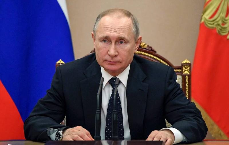 Công bố tình trạng sức khỏe của Tổng thống Nga Putin