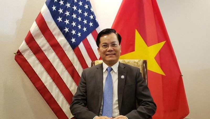 Đại sứ Việt Nam tại Mỹ Hà Kim Ngọc. Ảnh: baoquocte