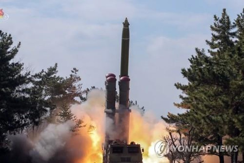 Vụ phóng tên lửa của Triều Tiên hôm 3/3.
