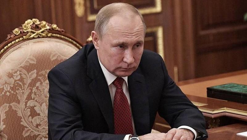 Tổng thống Nga Putin khai báo thu nhập