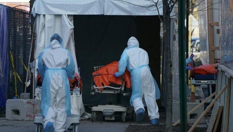 Bang New York của Mỹ lần đầu tiên ghi nhận số ca tử vong do dịch Covid-19 giảm