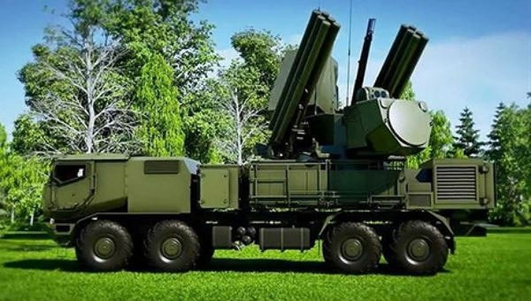 Tên lửa Pantsyr của Nga khoe sức mạnh vũ bão trong tập trận