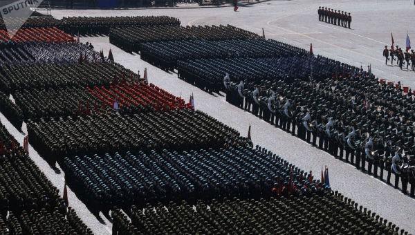 Cuộc duyệt binh quy mô lớn nhân kỷ niệm Ngày Chiến thắng được tổ chức ở Nga năm 2018.