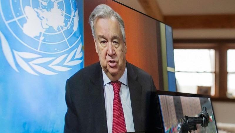 Tổng Thư ký LHQ Antonio Guterres.