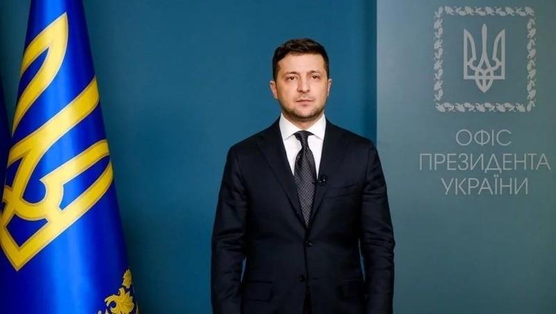 Tổng thống Ukraine Zelensky.