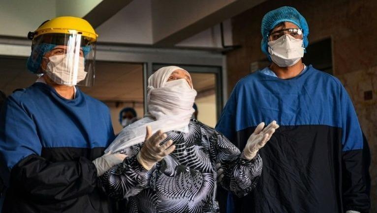 Cụ bà Alye Gunduz vừa được xuất viện.