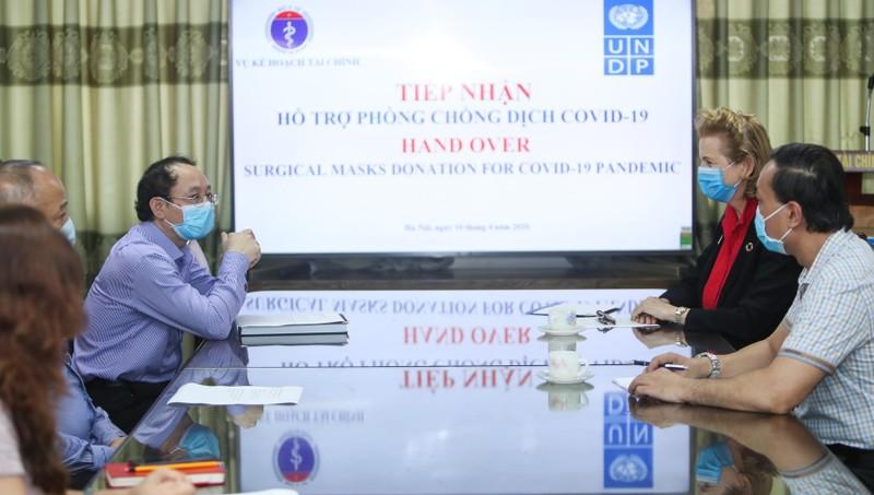 UNDP hỗ trợ Việt Nam trong cuộc chiến chống dịch Covid-19