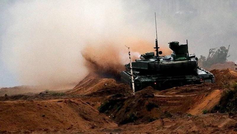 Quân đội Nga nhận lô xe tăng tối tân T-90M Proryv