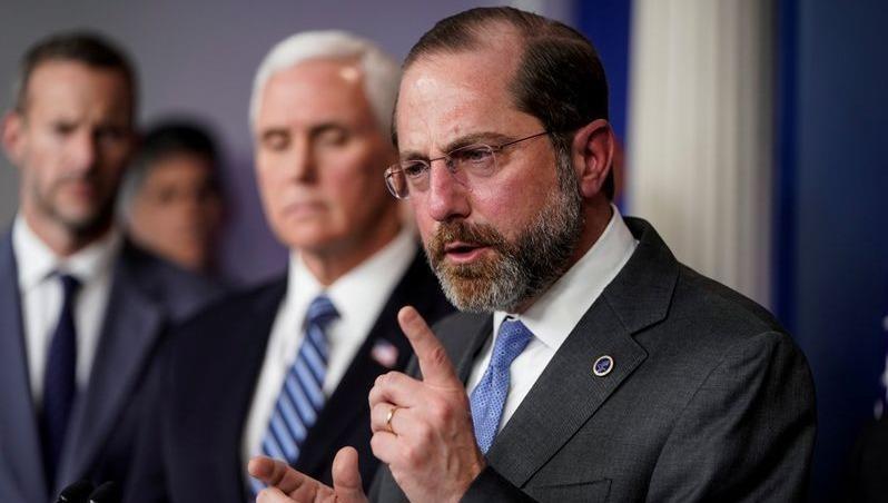 Mỹ xem xét thay thế Bộ trưởng Y tế vì ứng phó với đại dịch Covid-19?