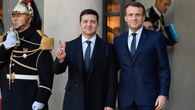 Giữa dịch COVID-19, Tổng thống Ukraine và Tổng thống Pháp nói gì với nhau?
