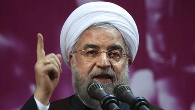 Tổng thống Iran Hassan Rouhani.