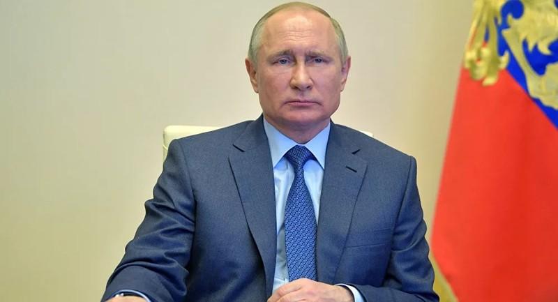 Hành động bất ngờ của Tổng thống Nga Putin tại một cuộc họp