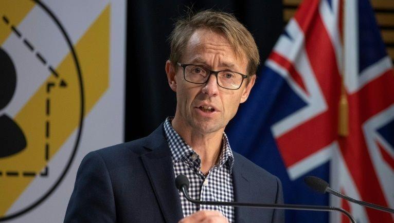 Người đứng đầu cơ quan y tế New Zealand  Ashley Bloomfield.