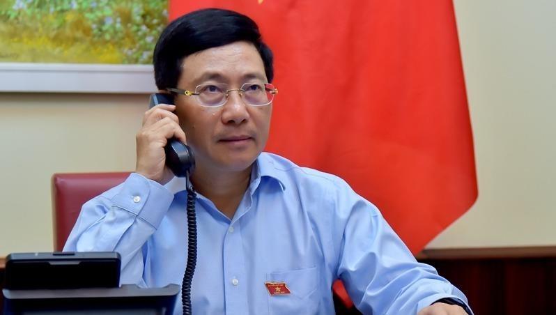 Bộ trưởng Ngoại giao Việt Nam lần đầu điện đàm với Bộ trưởng Ngoại giao một nước châu Phi