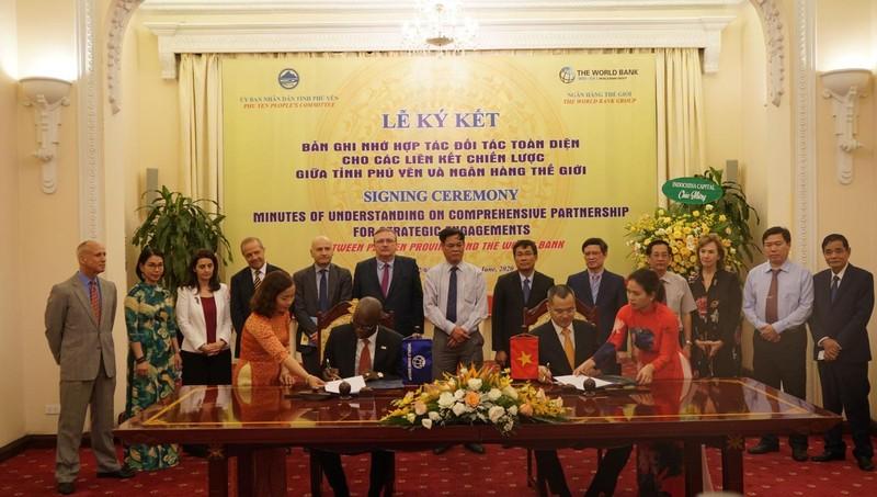 Ngân hàng Thế giới và tỉnh Phú Yên thiết lập Quan hệ đối tác chiến lược