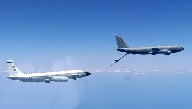 Nga điều máy bay chiến đấu chặn máy bay do thám của Mỹ ở Biển Đen