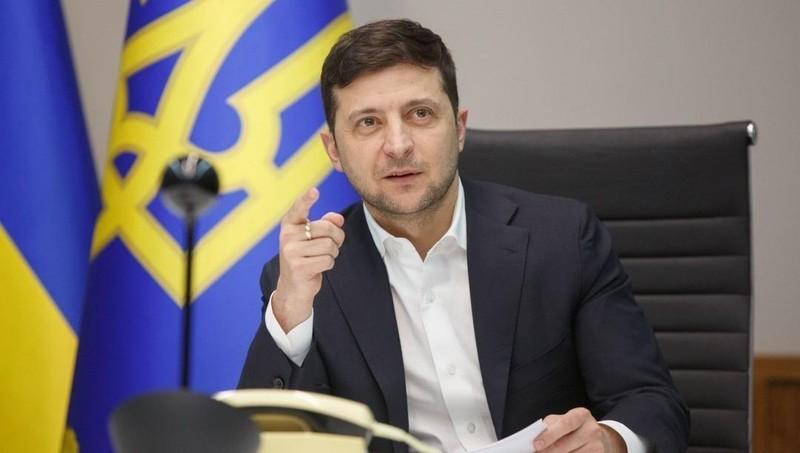 Nhầm lẫn gây sốc của Tổng thống Ukraine trong Ngày Hiến pháp