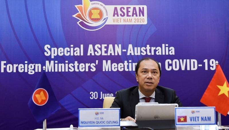 Hội nghị Bộ trưởng ASEAN-Australia Đặc biệt về Covid-19