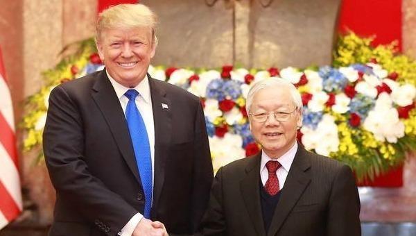 Lãnh đạo Việt Nam gửi điện mừng Quốc khánh Mỹ