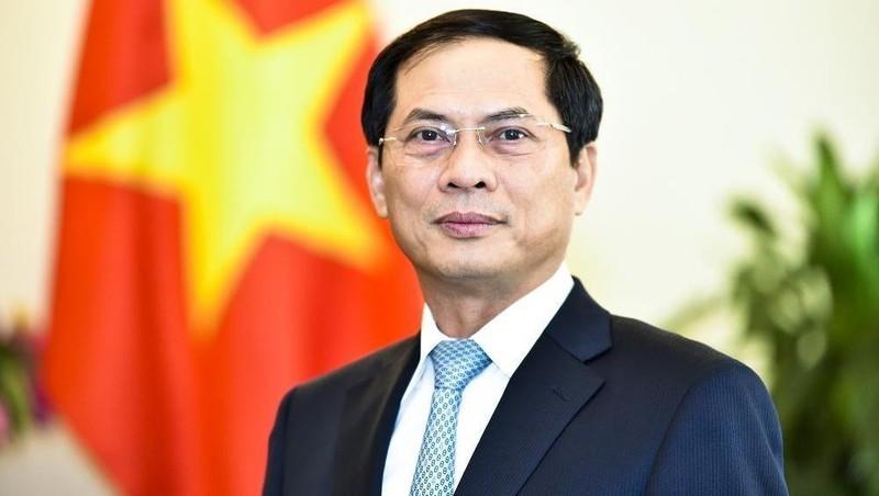 Thứ trưởng trường trực Bộ Ngoại giao Bùi Thanh Sơn.
