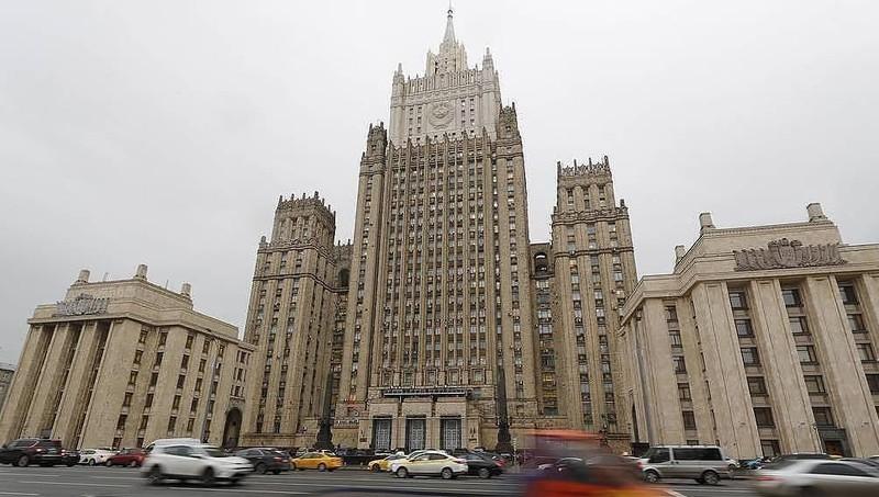 Trụ sở Bộ Ngoại giao Nga.