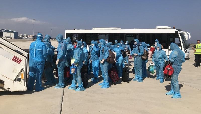 Công dân Việt Nam tại Síp chuẩn bị về nước
