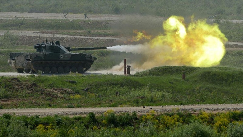 Xe tăng Sprut-SDM1 của Nga.