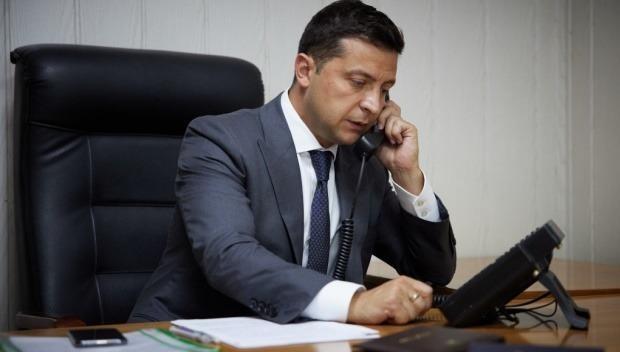 Tổng thống Ukraine Volodymyr Zelensky.