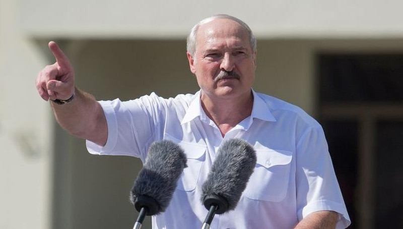 Tổng thống Belarus Alexander Lukashenko.
