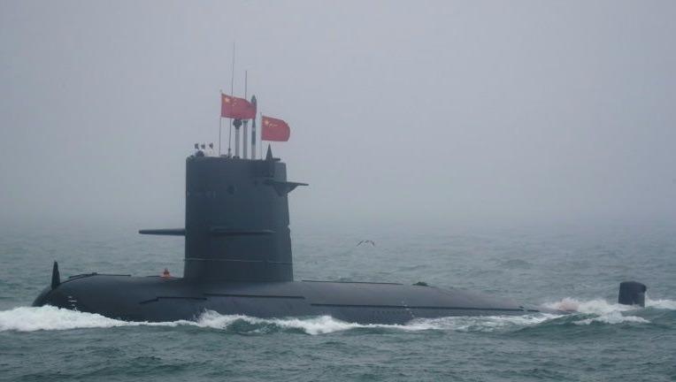 Một tàu ngầm của Trung Quốc.