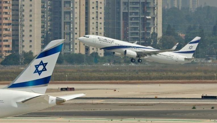Chuyến bay của hãng hàng không El Al chở phái đoàn Mỹ-Israeli tới UAE.